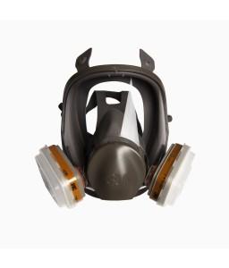 Μάσκα μόνιμη ολόκληρου προσώπου 3Μ 6800