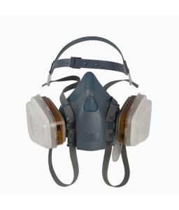 Μάσκα 3Μ σιλικόνης μόνιμη μισού προσώπου 7502