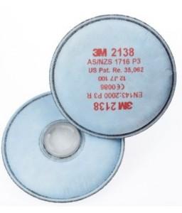 Φίλτρο στερεών σωματιδίων 3Μ 2138 σετ