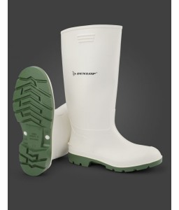 Μπότες γόνατος Dunlop Pricemastor White