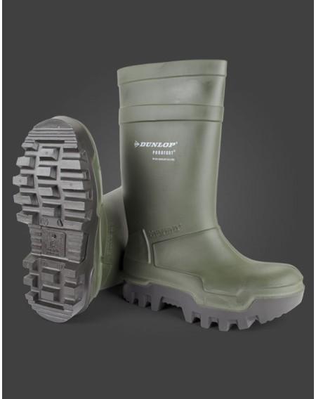 Μπότες γόνατος ασφαλείας Dunlop Purofort Thermo+ S5