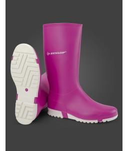 Μπότες γόνατος Dunlop Sport pink