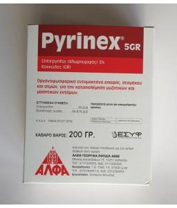 Pyrinex 5 G 200gr