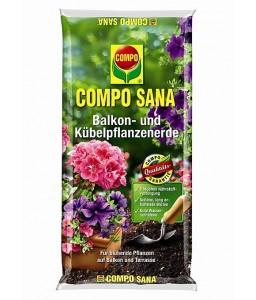 Φυτόχωμα Compo Sana για φυτά βεράντας 50lit