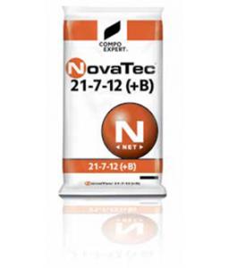 Λίπασμα σταθεροποιημένο κοκκώδες Novatec 21-7-12+TE+0,2B 25kg