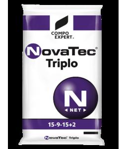 Λίπασμα σταθεροποιημένο κοκκώδες Novatec Triplo 15-9-15 +2MgO +IXN 25kg