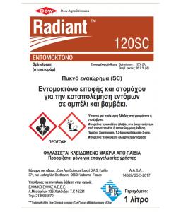 Radiant 120SC 250ml/500ml