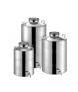 Ανοξείδωτο δοχείο με αεροστεγές πώμα 38-46B180