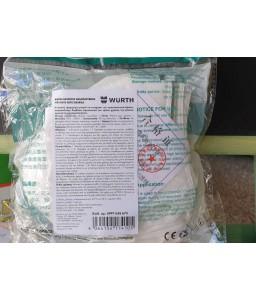 Μάσκα προστασίας αναπνοής FFP2 KN95 Wurth αναδιπλούμενη