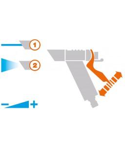 Πιστόλι εκτόξευσης νερού ρυθμιζόμενο Claber 8966