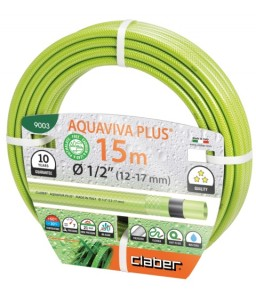 "Λάστιχο Aquaviva plus 1/2"" Claber 9003-9004"